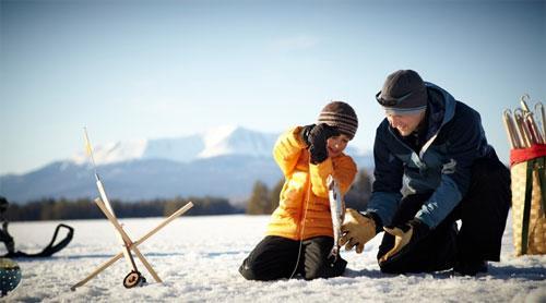 Зимняя рыбалка. Рекомендации и правила безопасности