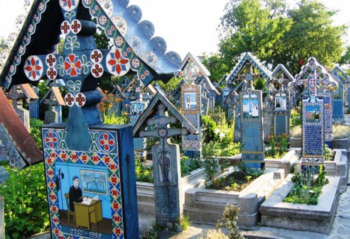 Румынское кладбище Сэпынцажудеца Марамуреш